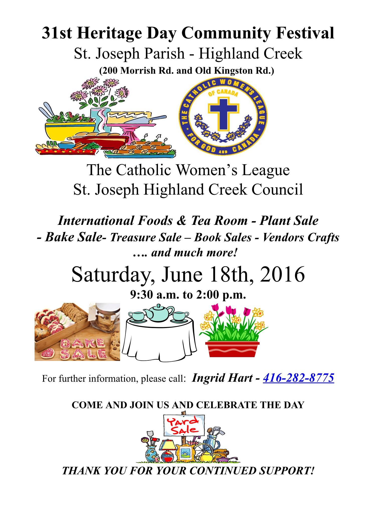 31st Heritage Day Community Festival