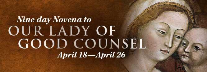 Our Lady of Good Counsel Story and Novena