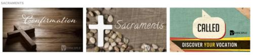 formed sacraments